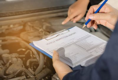 How to check car service history