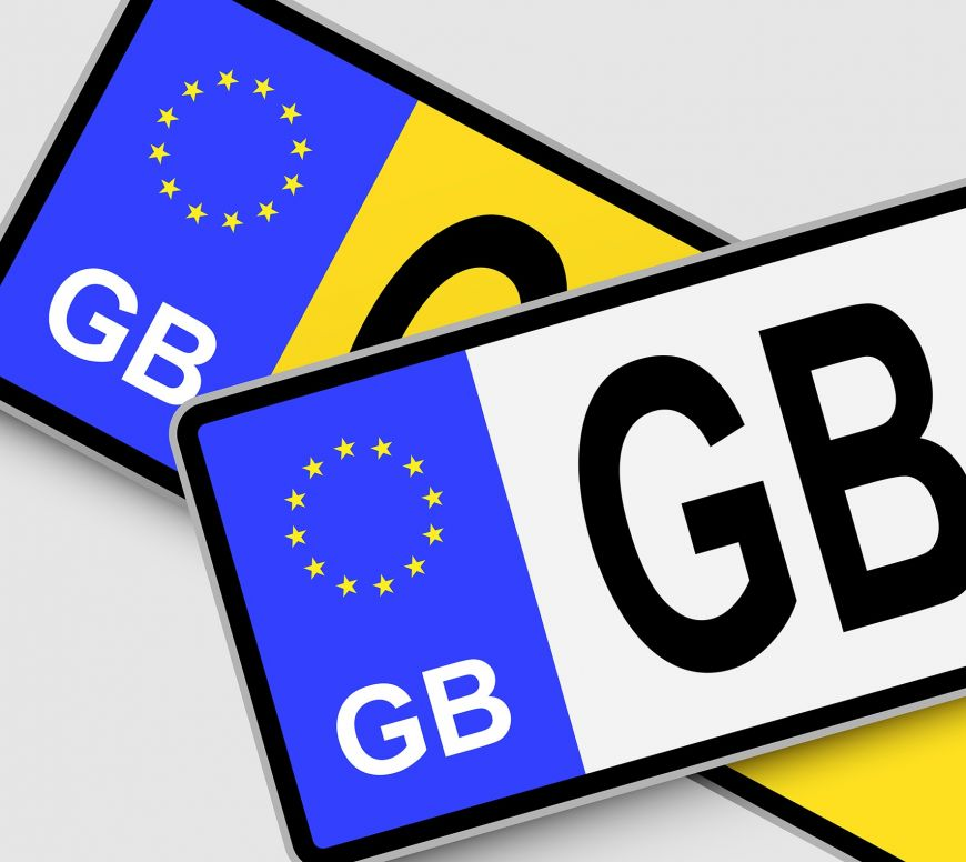 Illegal number plates explained