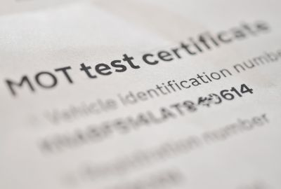 What is an MOT certificate?