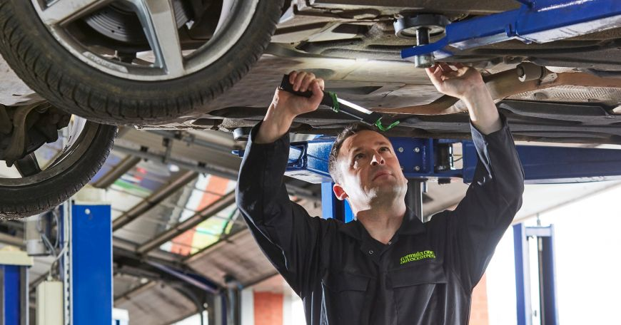 What is included in an MOT?