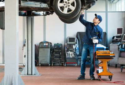 What does a car service include?